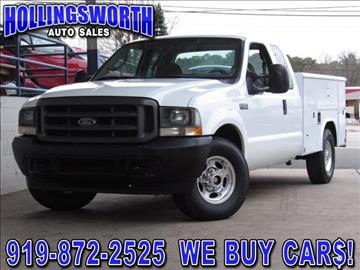 ford f 250 for sale raleigh nc. Black Bedroom Furniture Sets. Home Design Ideas
