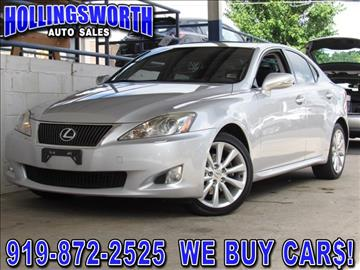 lexus is 250 for sale raleigh nc. Black Bedroom Furniture Sets. Home Design Ideas