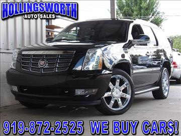 cadillac escalade for sale raleigh nc. Black Bedroom Furniture Sets. Home Design Ideas