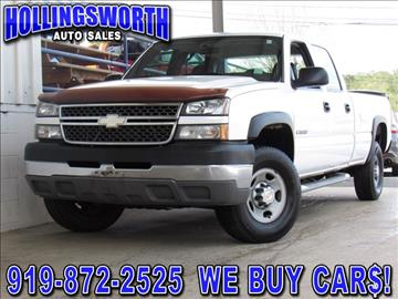 2005 Chevrolet Silverado 2500HD for sale in Raleigh, NC