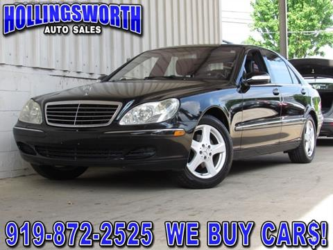 2004 Mercedes-Benz S-Class for sale in Raleigh, NC