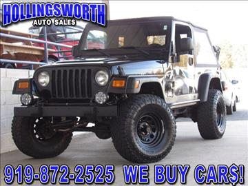 Jeep For Sale Raleigh NC Carsforsale