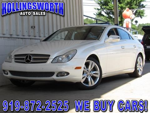 2009 Mercedes-Benz CLS for sale in Raleigh, NC