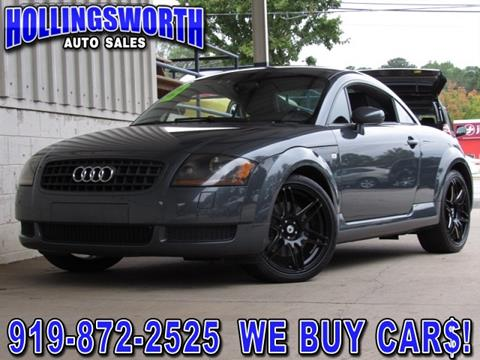 2005 Audi TT for sale in Raleigh, NC