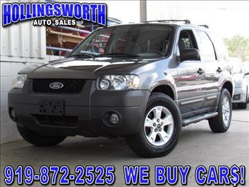 2005 Ford Escape for sale in Raleigh, NC