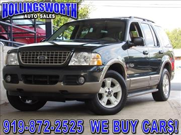 2003 Ford Explorer for sale in Raleigh, NC