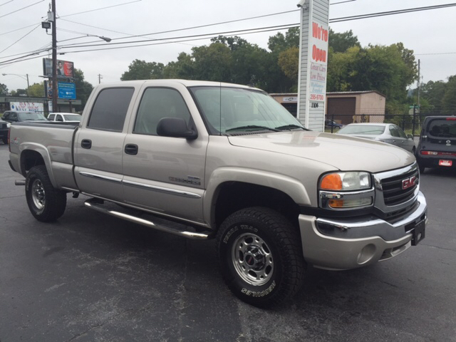 2006 gmc sierra 2500hd slt 4dr crew cab 4wd sb in rome ga. Black Bedroom Furniture Sets. Home Design Ideas