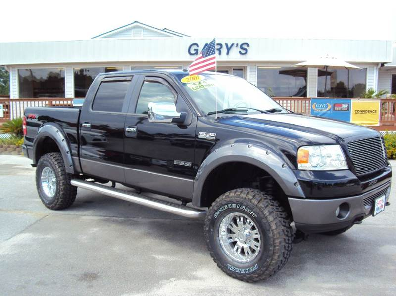 2007 ford f 150 lariat 4dr supercrew 4x4 styleside 5 5 ft sb in jacksonville nc gary 39 s auto sales. Black Bedroom Furniture Sets. Home Design Ideas
