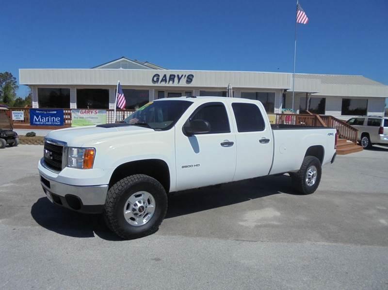 2013 gmc sierra 2500hd 4x4 work truck 4dr crew cab sb in jacksonville nc gary 39 s auto sales. Black Bedroom Furniture Sets. Home Design Ideas