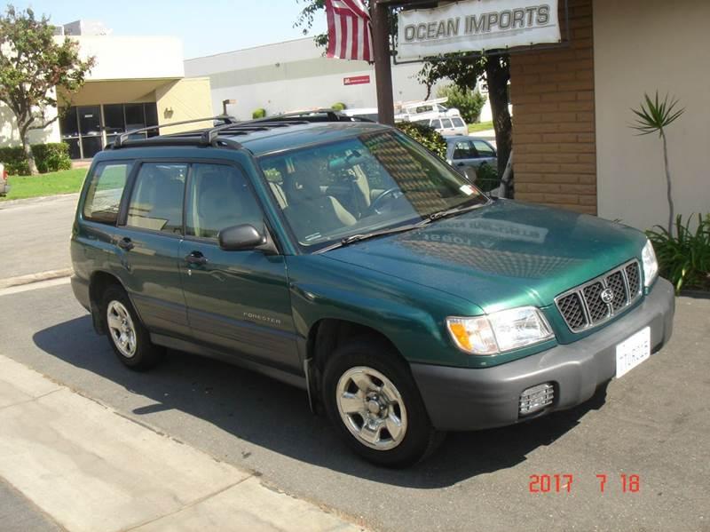 2001 Subaru Forester AWD L 4dr Wagon - Huntington Beach CA
