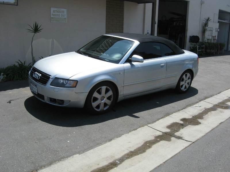 2006 Audi A4 AWD 3.0 quattro 2dr Convertible - Huntington Beach CA