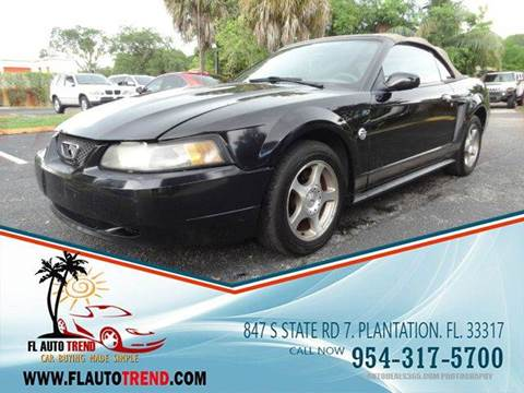2004 Ford Mustang for sale in Plantation, FL