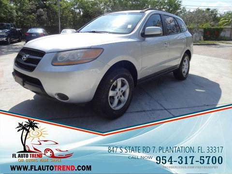 2008 Hyundai Santa Fe for sale in Plantation, FL