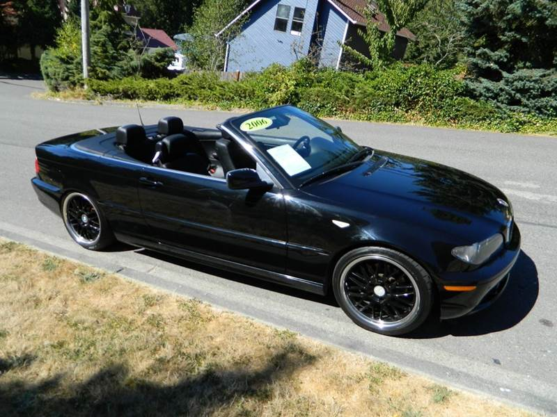 Bmw Series Ci Dr Convertible In Lynnwood WA JR - 2006 bmw 325ci convertible