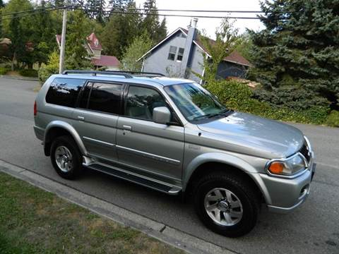2001 Mitsubishi Montero Sport for sale in Lynnwood Financing Available, WA