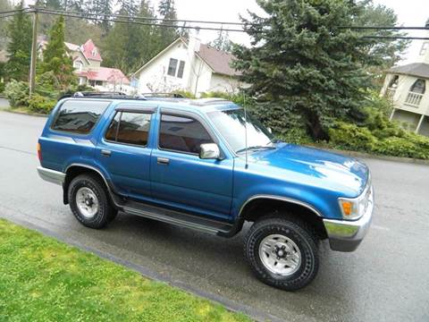 1993 Toyota 4Runner for sale in Lynnwood Financing Available, WA