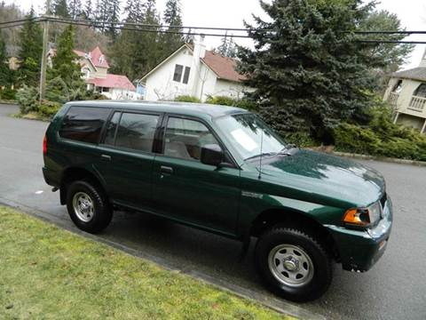 1999 Mitsubishi Montero Sport for sale in Lynnwood Financing Available, WA