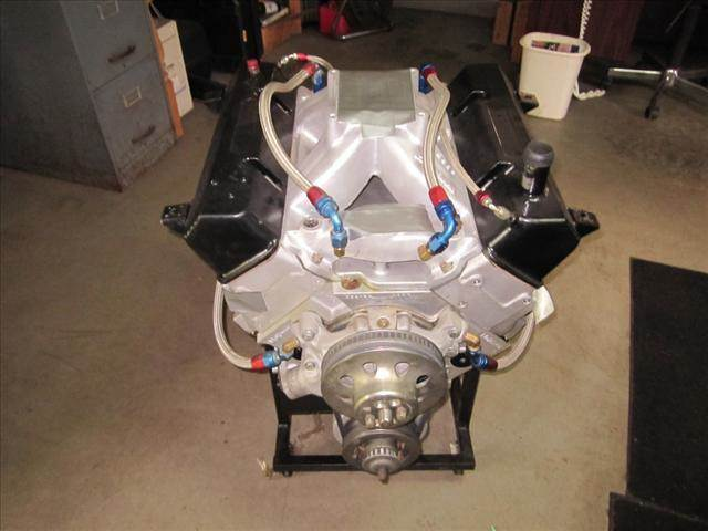 2008 Race motor Aluminum Heads and Block 18 Degree 415 Dry Sump