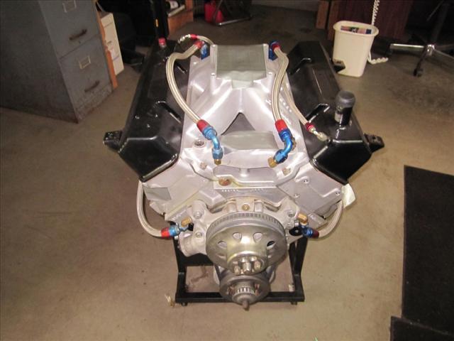 2008 Race motor Aluminum Heads and Block 18 Degree 415 Dry Sump
