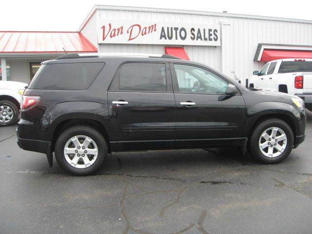 2014 gmc acadia sle 2 awd 4dr suv in holland mi van dam auto sales leasing. Black Bedroom Furniture Sets. Home Design Ideas