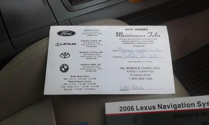 2006 Lexus GX 470 4dr SUV 4WD - Cambridge NY