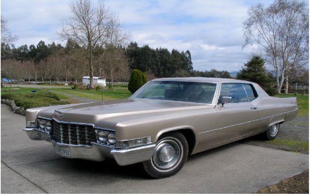 1969 Cadillac DeVille for sale in SANTA ROSA CA
