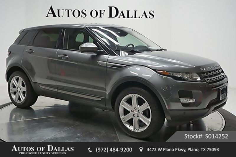 land rover range rover evoque for sale in texas. Black Bedroom Furniture Sets. Home Design Ideas