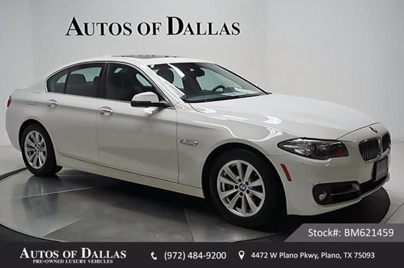 bmw 2015 5 series white. 2015 bmw 5 series for sale in plano tx bmw white