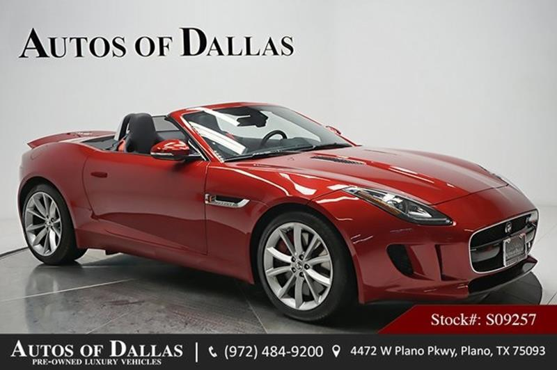 2014 Jaguar F TYPE For Sale In Plano, TX