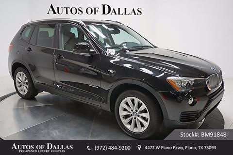 2017 BMW X3 for sale in Plano, TX