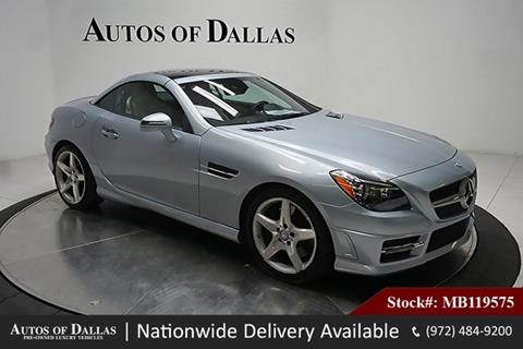 2016 Mercedes Benz SLK For Sale In Plano, TX