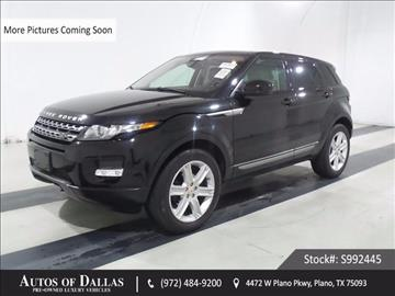 2015 Land Rover Range Rover Evoque for sale in Plano, TX