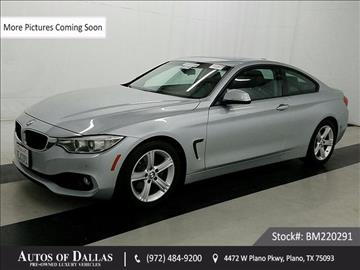 2014 BMW 4 Series for sale in Plano, TX