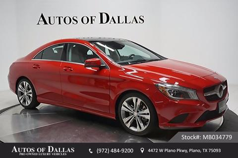 2014 Mercedes-Benz CLA for sale in Plano, TX