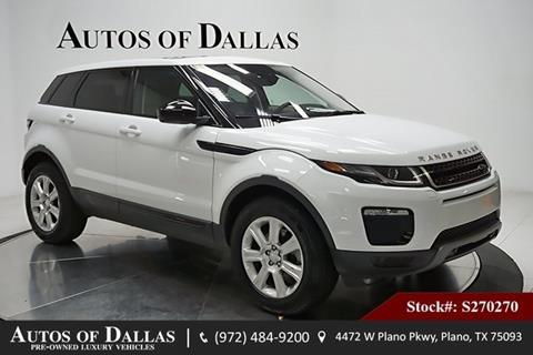 2018 Land Rover Range Rover Evoque for sale in Plano, TX