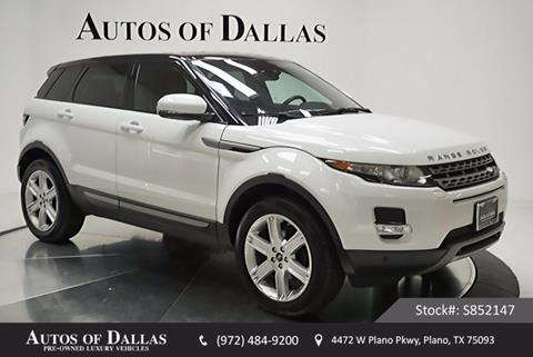 2013 Land Rover Range Rover Evoque for sale in Plano, TX