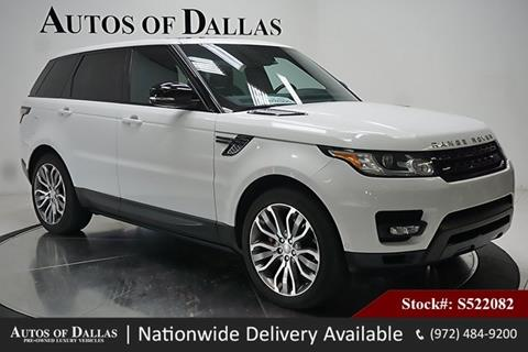 2015 Land Rover Range Rover Sport for sale in Plano, TX