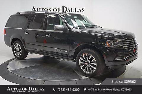2016 Lincoln Navigator L for sale in Plano, TX