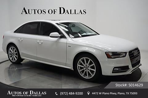2016 Audi A4 for sale in Plano, TX