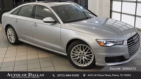 2016 Audi A6 for sale in Plano, TX