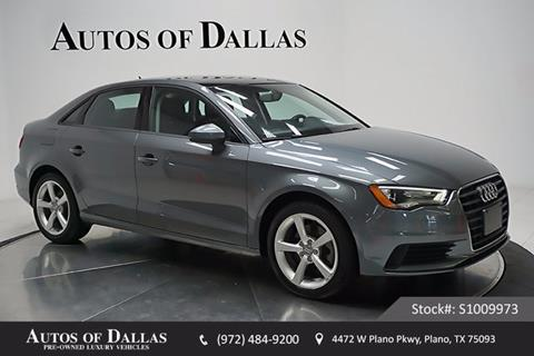 2015 Audi A3 for sale in Plano, TX