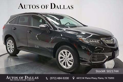 2017 Acura RDX for sale in Plano, TX