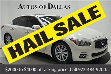 2014 Infiniti Q50 for sale in Plano, TX