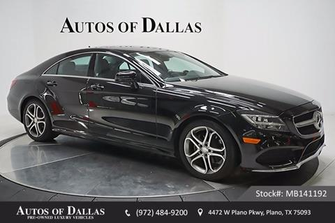 2015 Mercedes-Benz CLS for sale in Plano, TX