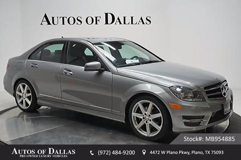 2014 Mercedes-Benz C-Class for sale in Plano, TX