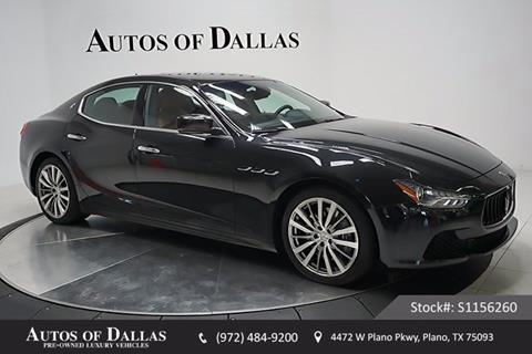 2015 Maserati Ghibli for sale in Plano, TX