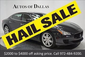 2014 Maserati Quattroporte for sale in Plano, TX