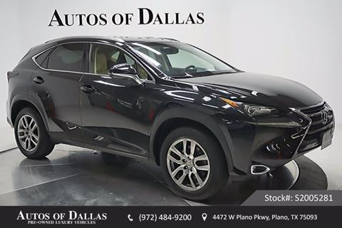 2015 Lexus NX 200t for sale in Plano, TX