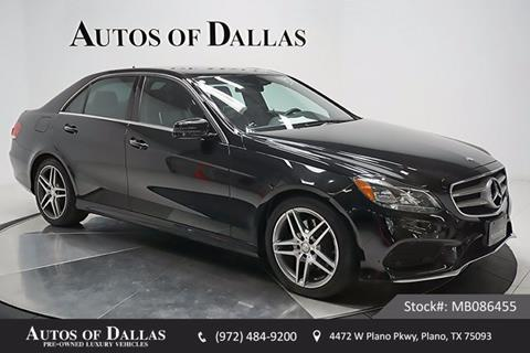 2015 Mercedes-Benz E-Class for sale in Plano, TX