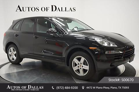 2014 Porsche Cayenne for sale in Plano, TX